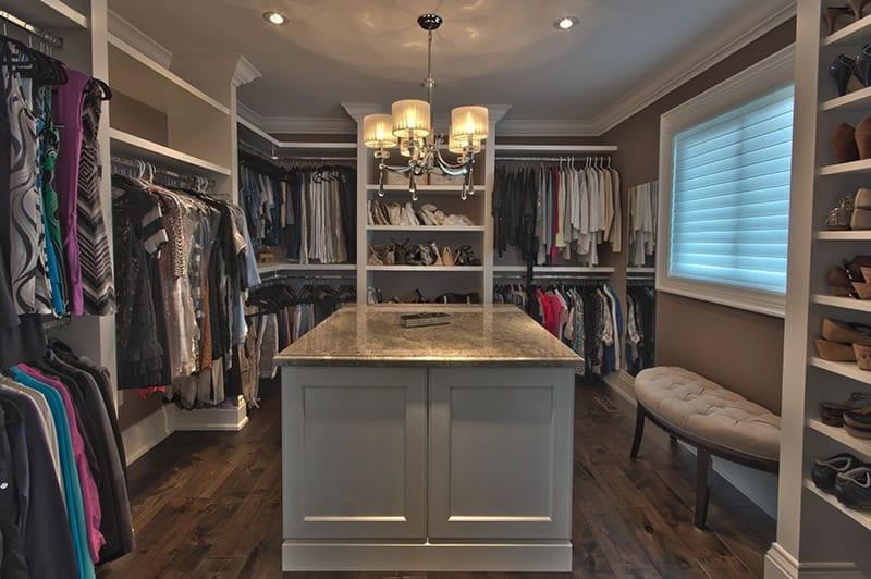 Lamoka Bedroom Converted to Dressing Room