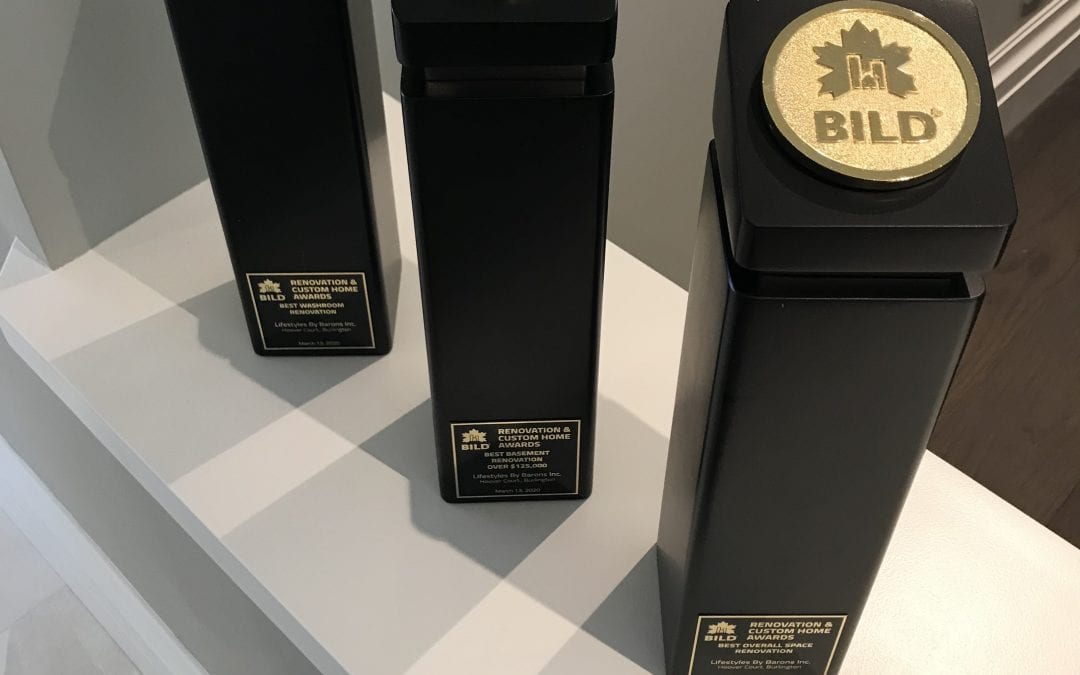 Thank you BILD/ Renomark! We are proud to accept these beautiful Trophies!