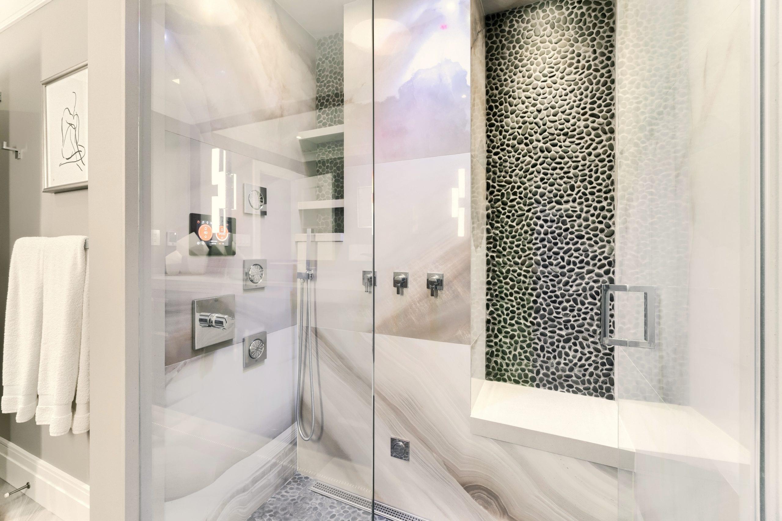 DC Bath Steam Shower
