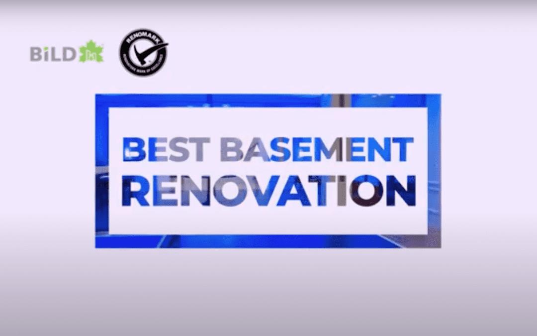 2021 Finalists – Best Basement Renovation
