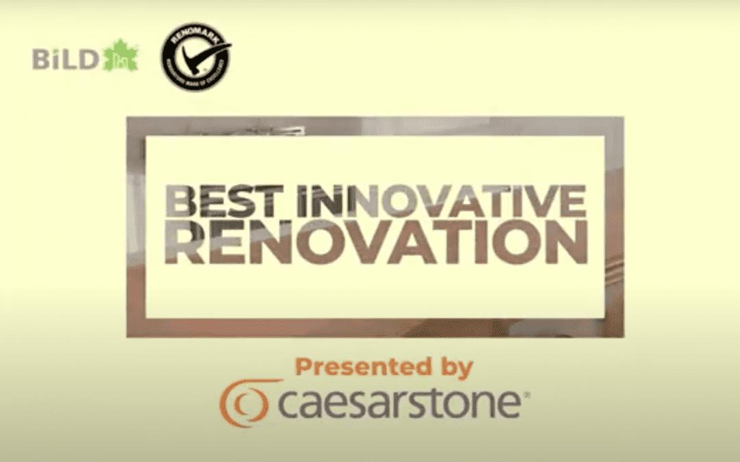 2021 Finalists – Best Innovative Renovation