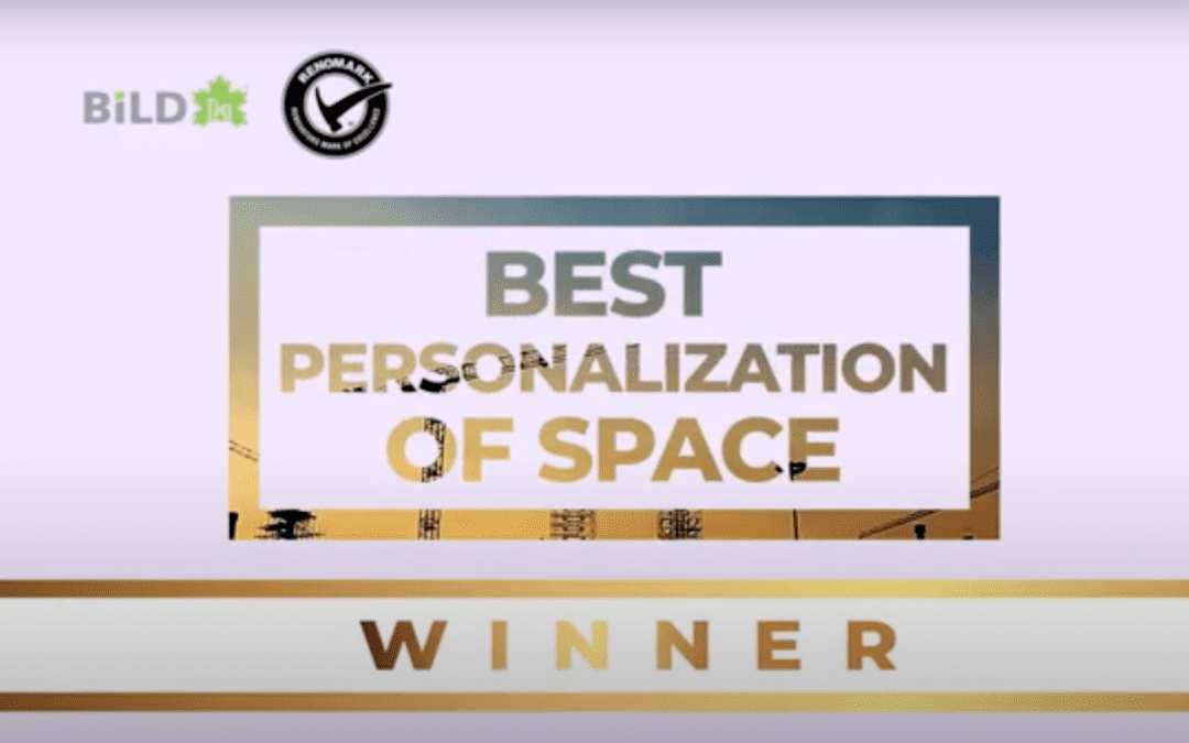 WINNER – Most Unique Personalization of Space, 23rd Annual Renovation and Custom Home Awards