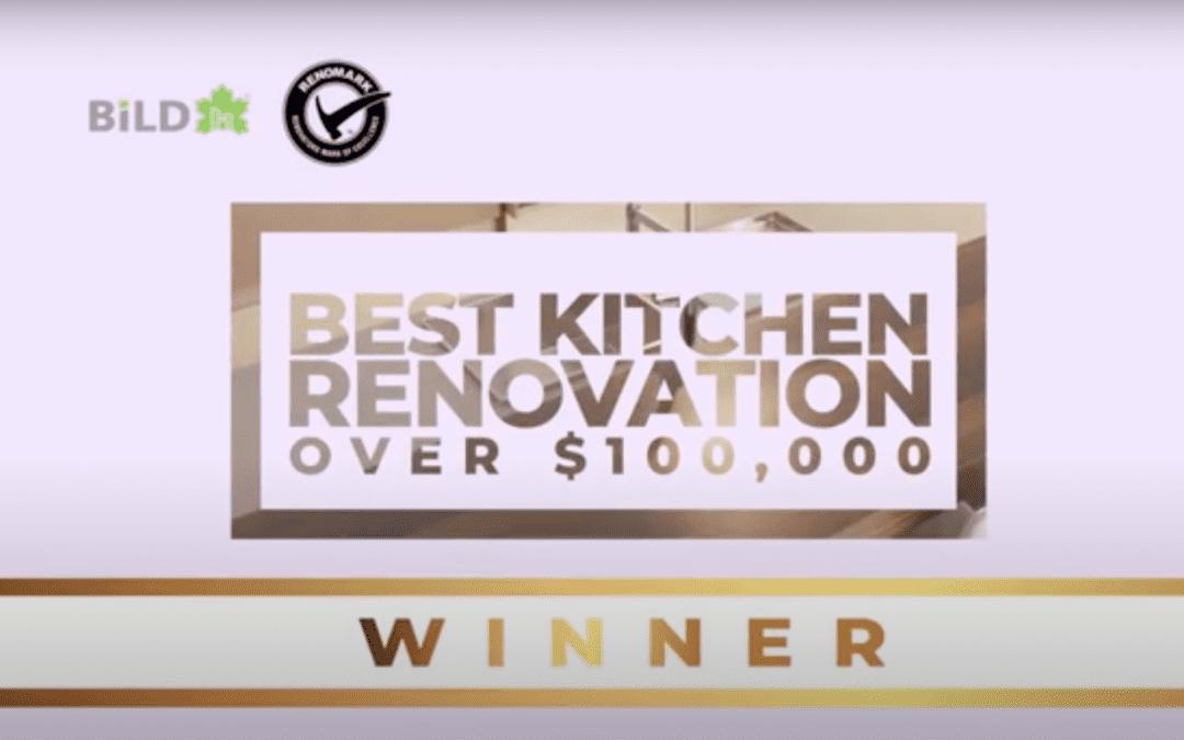 WINNER – Best Kitchen Renovation over $100K, 23rd Annual Renovation and Custom Home Awards