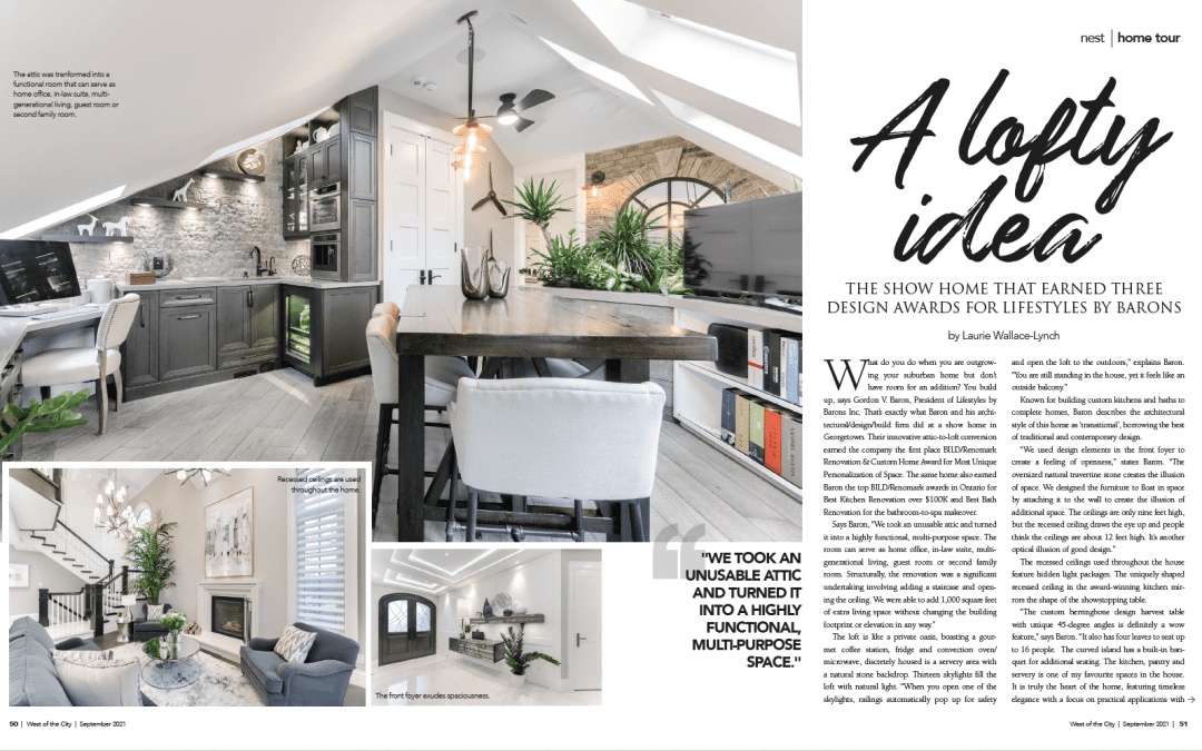 West of the City Magazine – Editorial featuring the Multiple Award Winning Lifestyles Dream Home